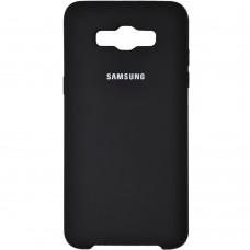 Силикон Original Case Samsung Galaxy J5 (2016) J510 (Чёрный)