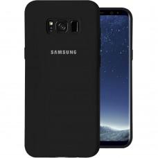 Силикон Original Case Samsung Galaxy S8 Plus (Чёрный)