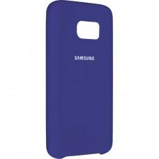 Силиконовый чехол Original Case Samsung Galaxy S7 Edge (Фиолетовый)