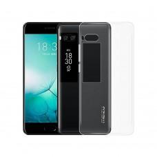 Силикон WS Meizu Pro 7 Plus (прозрачный)