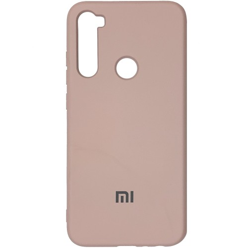 Силиконовый чехол Original Case (HQ) Xiaomi Redmi Note 8 (Пудра)