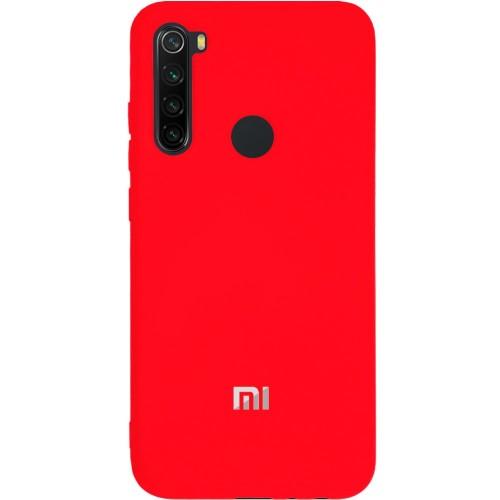 Силиконовый чехол Original Case (HQ) Xiaomi Redmi Note 8 (Красный)