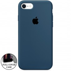 Силикон Original Round Case Apple iPhone 7 / 8 (09) Midnight Blue