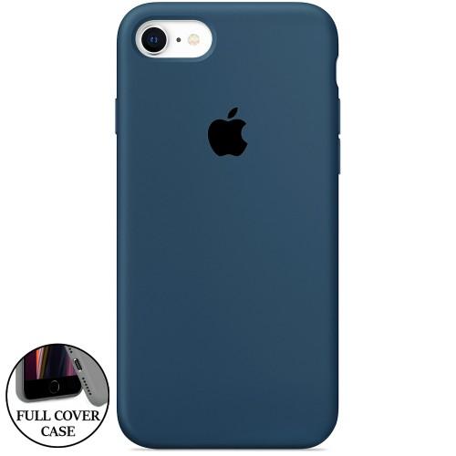 Силикон Original Round Case Apple iPhone 7 / 8 (09) Midnight Blue