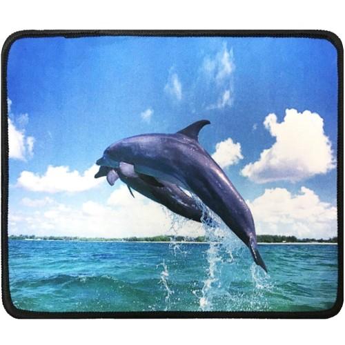 Коврик для мышки №19 (25*21cm) (Dolphin)