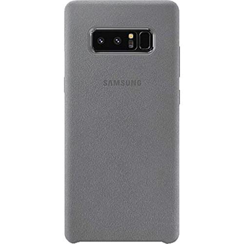 Чехол Alcantara Cover Samsung Note 8 (Серый)