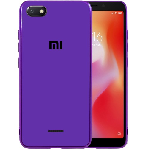 Накладка Glass Case Xiaomi Redmi 6A (Фиолетовый)