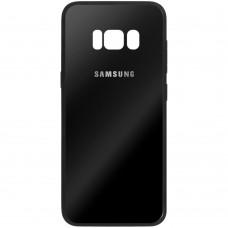 Накладка Glass Case Samsung Galaxy S8 Plus (чёрный)
