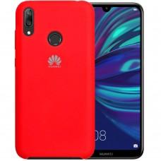 Силиконовый чехол Original Case Huawei Y7 (2019) (Красный)