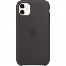 Чехол Silicone Case Apple iPhone 11 (Black)