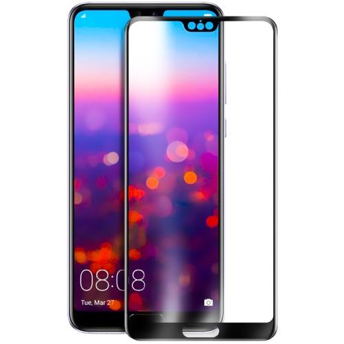 Защитное стекло для Huawei P20 Pro Black (Клей)