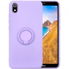 Чехол Ring Silicone Case Xiaomi Redmi 7A (Сиреневый)