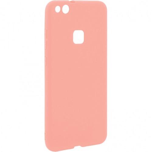 Силиконовый чехол iNavi Color Huawei P10 Lite (Розовый)