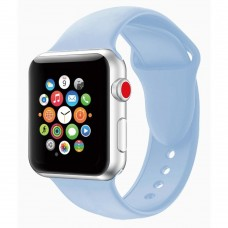 Ремешок Apple Watch Silicone 42 / 44mm (23) Sea Blue