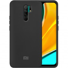 Силикон Original Case Xiaomi Redmi 9 (Чёрный)
