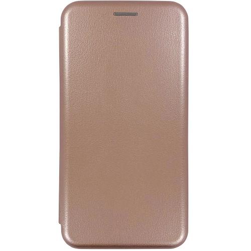 Чехол-книжка Оригинал Xiaomi Redmi 6A (Розовое золото)