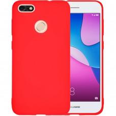 Силиконовый чехол iNavi Color Huawei Nova Lite (2017) (красный)