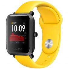 Ремешок Original Design Xiaomi Amazfit Bip 22мм (Жёлтый)
