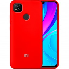 Силикон Original Case Xiaomi Redmi 9C (Красный)