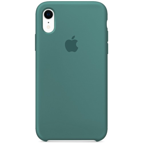 Силикон Original Case Apple iPhone XR (55) Blackish Green