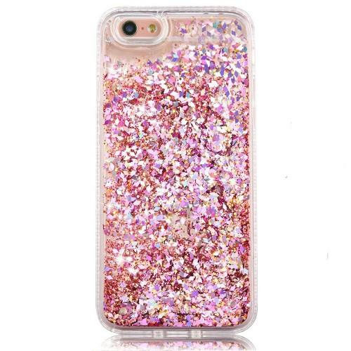 Силиконовый чехол Soft Sparkles iPhone 6 (Розовый)