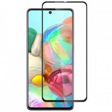 Защитное стекло для Samsung Galaxy A71 (2020) Black
