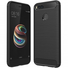 Силикон Polished Carbon Xiaomi Mi A1 / Mi5x (Черный)