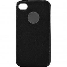 Силикон SHINE Apple iPhone 4 / 4s (черный)
