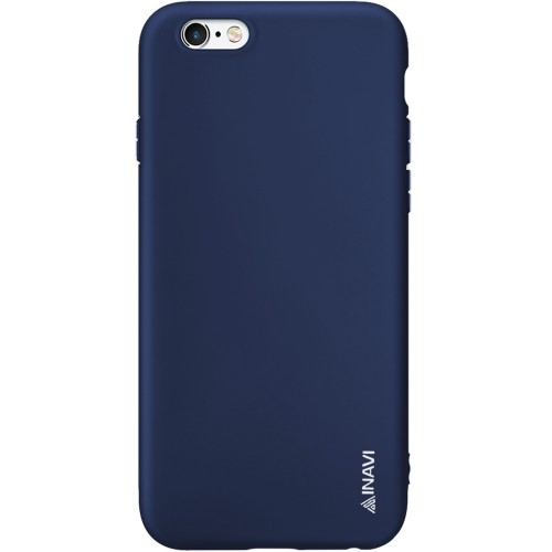 Силикон iNavi Color Apple iPhone 6 / 6s (темно-синий)