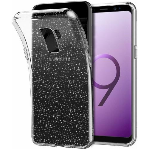 Силиконовый чехол Molan Shining Samsung S9 Plus (Прозрачный)