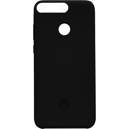 Силикон Original Case Huawei Y6 (2018) (Чёрный)