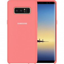 Силикон Original Case Samsung Galaxy Note 8 N950 (Розовый)