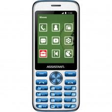 Мобильный телефон Assistant AS-204 (Blue)