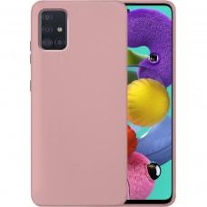 Силикон Original 360 Case Samsung Galaxy A51 (2020) (Пудровый)
