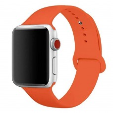 Ремешок Apple Watch Silicone 42 / 44mm (18) Orange