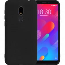 Силикон iNavi Color Meizu M8 Lite (Черный)