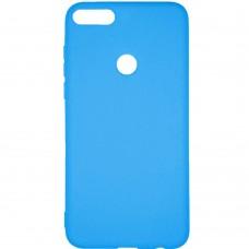 Силикон Multicolor Huawei Honor 7X (синий)
