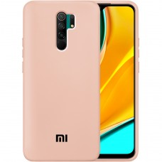 Силикон Original Case Xiaomi Redmi 9 (Пудровый)