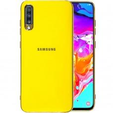 Силикон Zefir Case Samsung Galaxy A70 (2019) (Желтый)