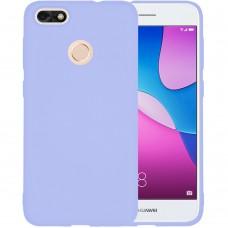 Силиконовый чехол iNavi Color Huawei Nova Lite (2017) (фиолетовый)