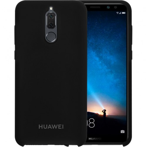 Силикон Original Case Huawei Mate 10 Lite (Чёрный)
