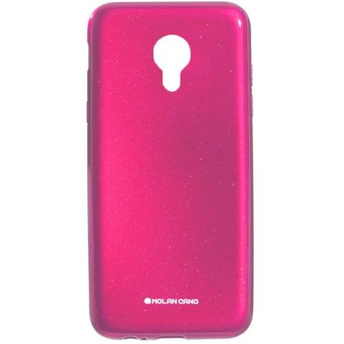 Силиконовый чехол Molan Shining Meizu M3 (Розовый)