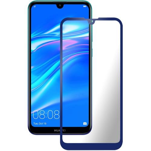 Стекло 3D Huawei Y7 (2019) Blue