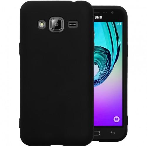 Силикон Graphite Samsung Galaxy J3 (2016) J320 (Чёрный)