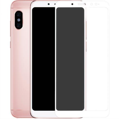 Стекло 5D Matte HD Xiaomi Redmi 5 Plus / Note 5 Pro White