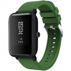 Ремешок Original Design Xiaomi Amazfit Bip (Тёмно-зелёный)