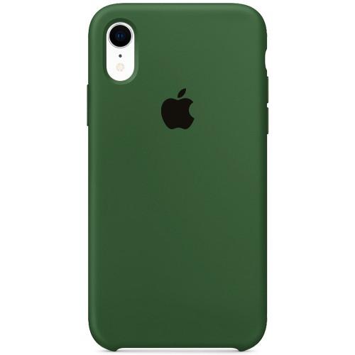 Силиконовый чехол Original Case Apple iPhone XR (52) Olive