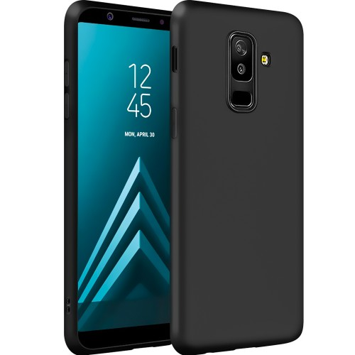 Силикон Graphite Samsung Galaxy A6 Plus (2018) A605 (Чёрный)