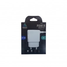 СЗУ-адаптер iNavi MicroUSB-кабель + USB / 2A (AF-01) (Чёрный)