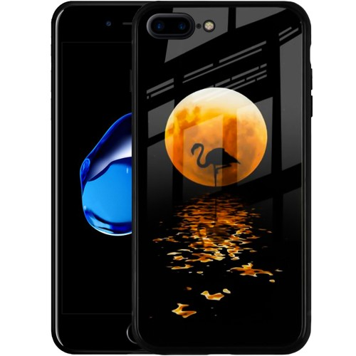 Накладка Luminous Glass Case Apple iPhone 7 Plus / 8 Plus (Moon)